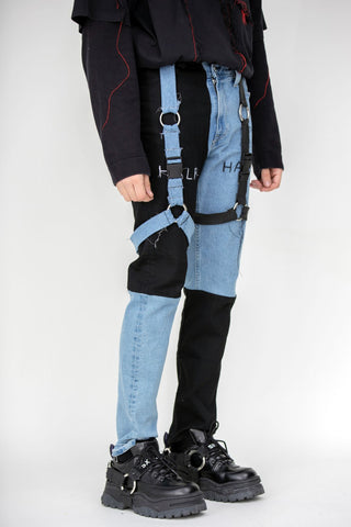 Half/Harness Half/Denim