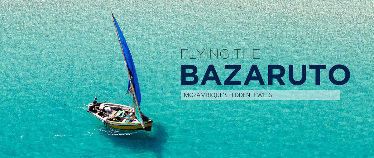 Flying Mozambique's Turquoise Coast