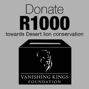 R1000 Donation for Desert Lion Conservation - HPH Publishing