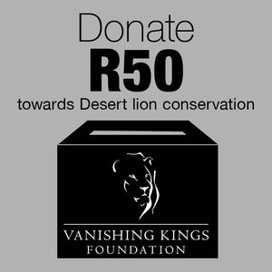 R50 Donation for Desert Lion Conservation - HPH Publishing