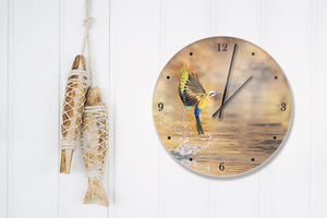 Clock with Bee Eater image - HPH Publishing