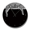 Clock with Moods of Nature Leopard image - HPH Publishing