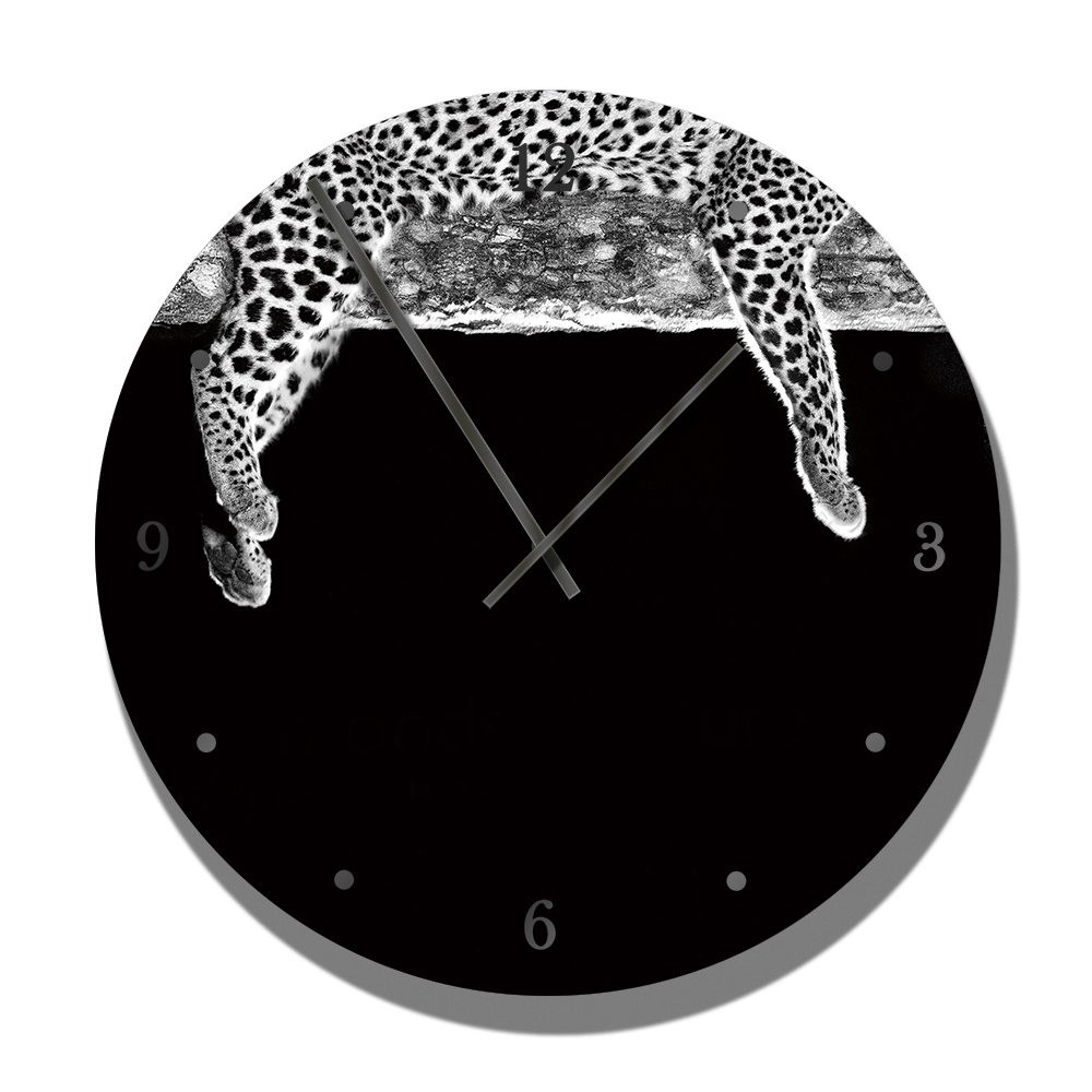PrintWld Clock with Moods Leopard - HPH Publishing