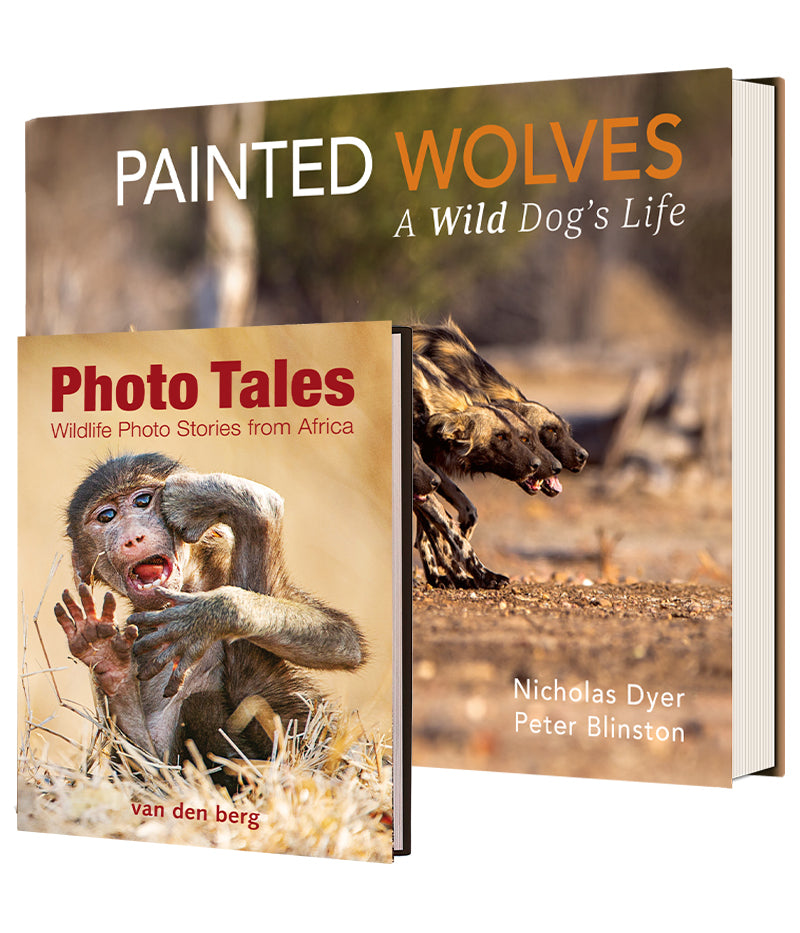 Bundle of Painted Wolves and Photo Tales