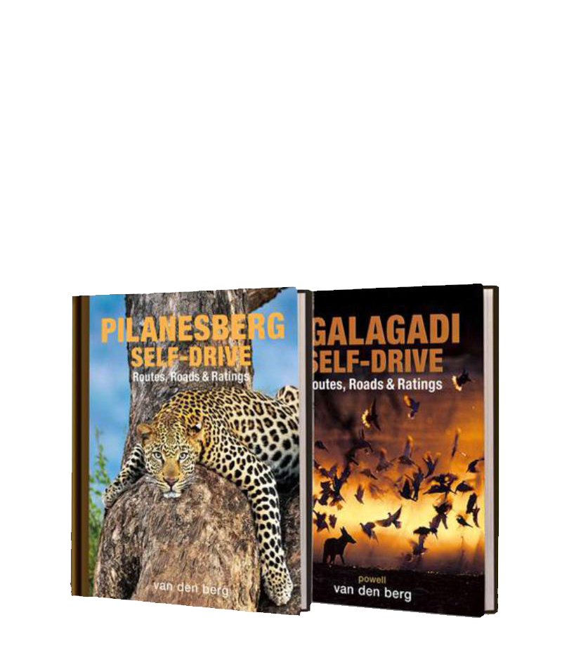 Bundle of Kgalagadi and Pilanesberg Self-Drive Books