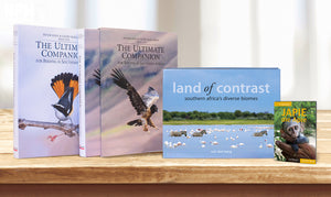 Ultimate Birding Companion, Land of Contrast and Japie die Apie - HPH Publishing