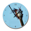 Clock with Goliath Heron image - HPH Publishing