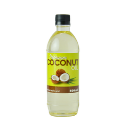 Premium Coconut Oil (500ml) - Ayurco Wellness