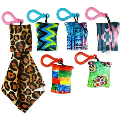 Microfiber Cleaning Cloth with Handy Pouch Keychain (Styles Vary) only $1 at 11for10.com Online $1 Store