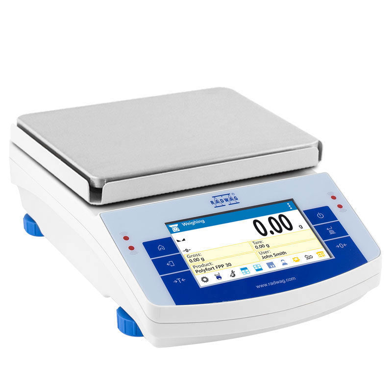 Radwag PS X2M Series PS 6100.X2M Toploading Touchscreen Precision Balance