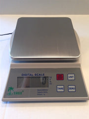 LW Measurements Tree KHR 3000 Digital Kitchen Scale with Bowl  6.5 lbs x 0.05 lbs / 3000 g x 0.1 g