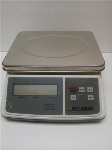Tree MCT-33 Counting Scale by LW Measurements  33 lbs x 0.001 lbs