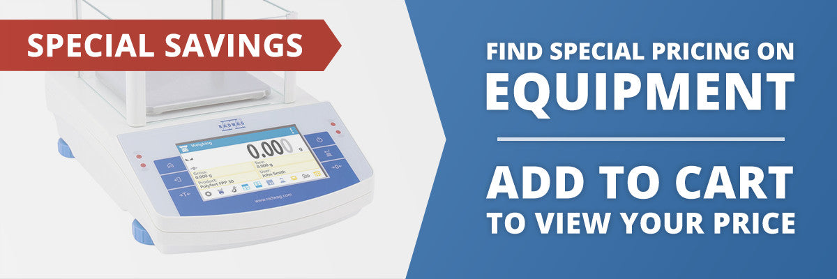 Find special pricing on all laboratory equipment! Add to cart to view your price.