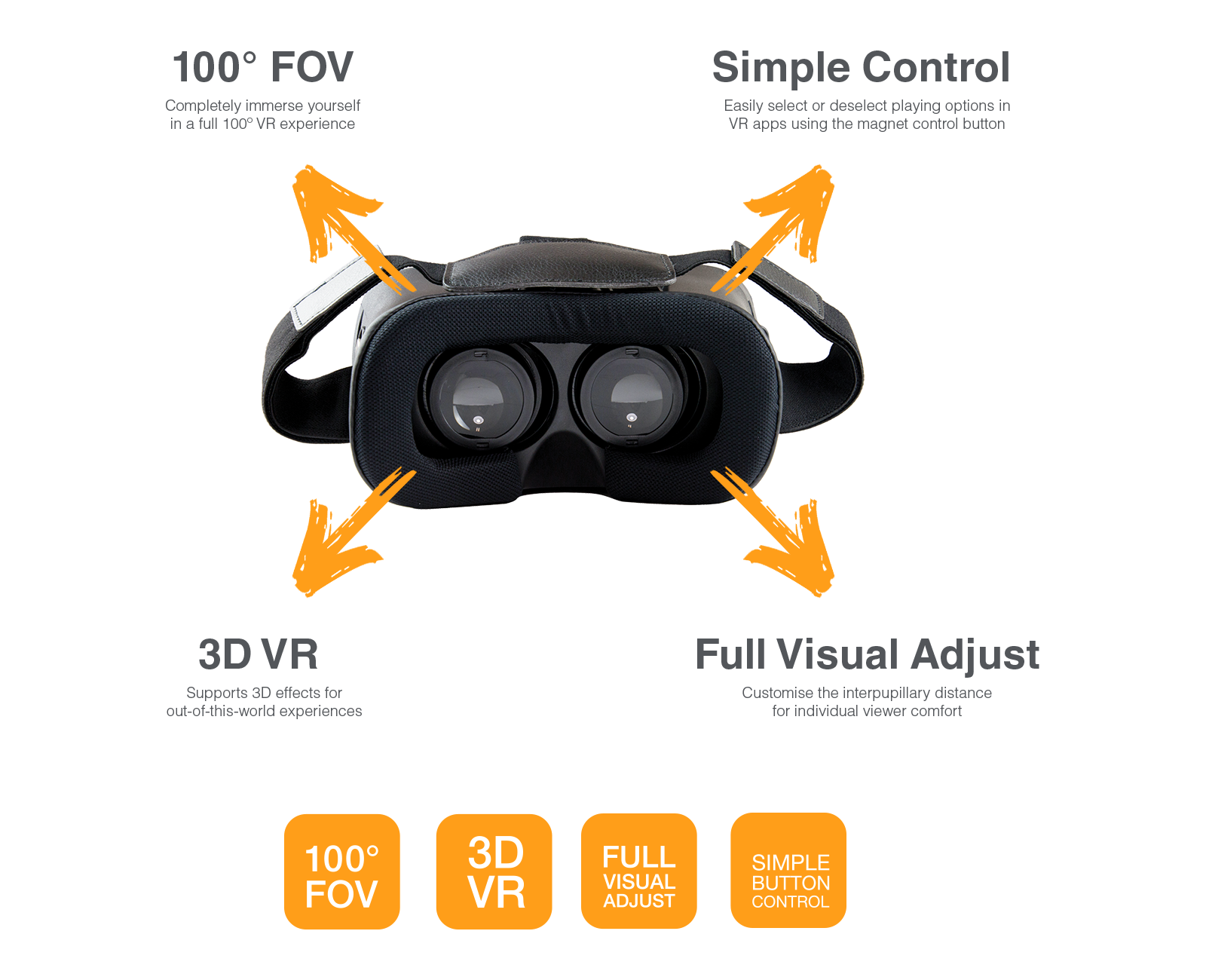 vr-x features