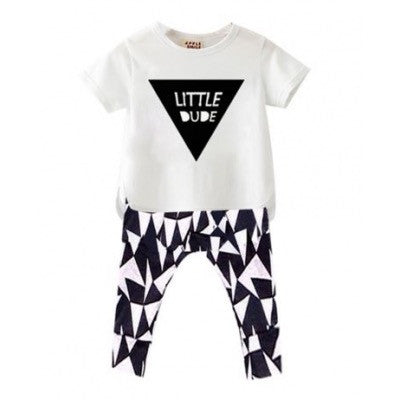 Little Dude Clothing set Outfit for Baby and Toddler