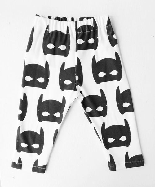 Organic Batman Mask Pants or Leggings
