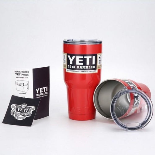 Red AUTHENTIC Yeti Rambler 30 oz. Cup