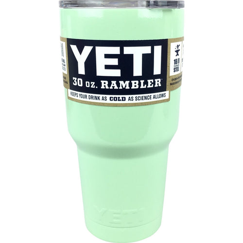 Mint Green Authentic Yeti Rambler 30 oz. Cup