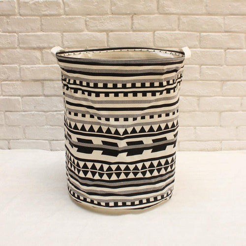 Extra Large Aztec Geometric Tribal Laundry Hamper or Basket