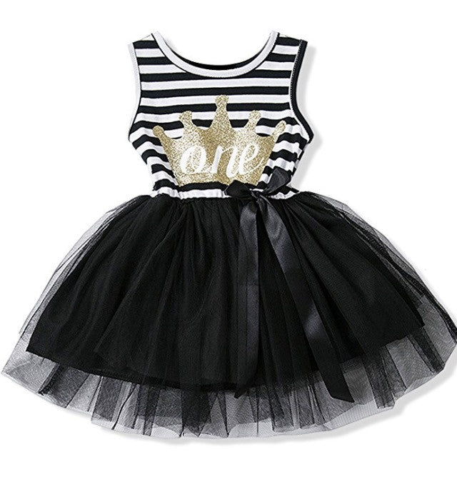 Birthday Crown Tutu Dress