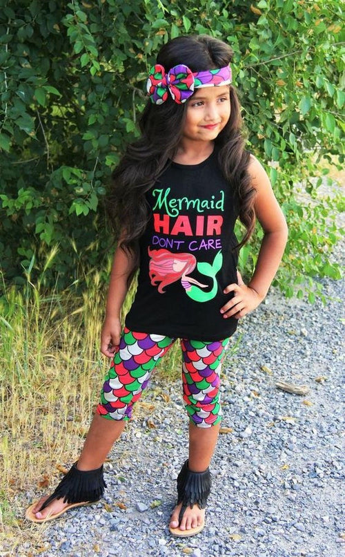 Mermaid Hair Don't Care Outfit