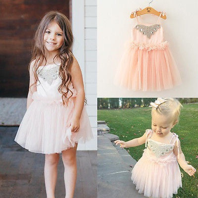 Pink Tutu Jewel Dress