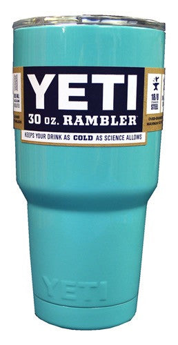 Light Blue AUTHENTIC Yeti Rambler 30 oz. Cup