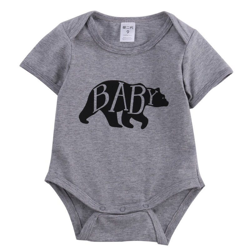 Baby Bear Onesie Bodysuit For Baby and Toddler