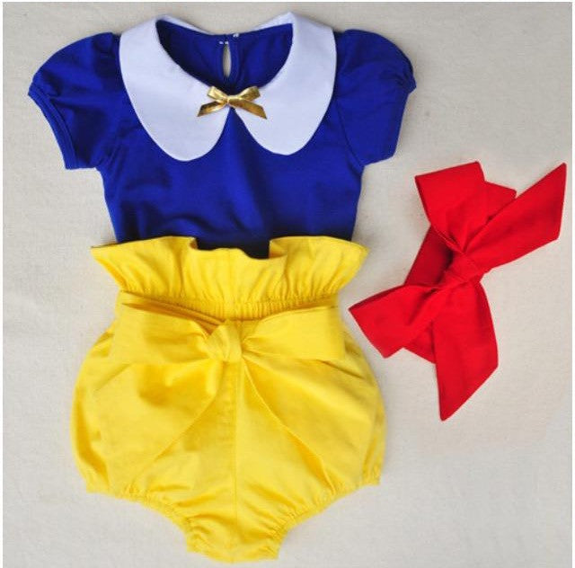 Snow White Three Piece Outfit