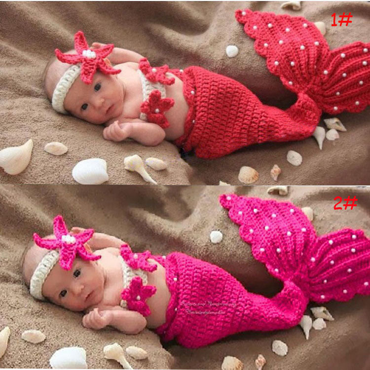 LIMITED Starfish Mermaid Photography Kit Mermaid Princess Baby Childre u2013 DEAL INC & LIMITED Starfish Mermaid Photography Kit Mermaid Princess Baby ...