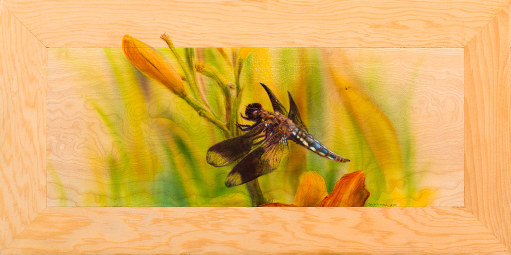 Blue Dragonfly - Limited Edition Giclee