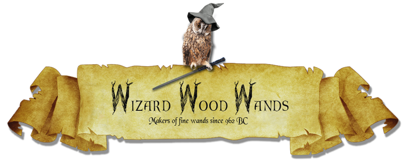 Wizard Wood Wands