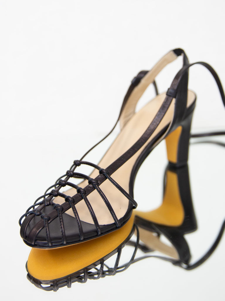 MARYAM NASSIR ZADEH Maribel Sandal - Black