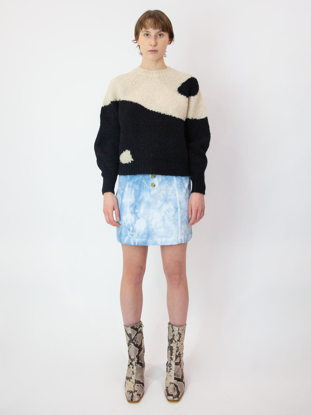 PALOMA WOOL Ying Yang Sweater - Black