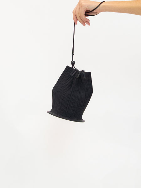 PLEATS PLEASE ISSEY MIYAKE Cone Pleats Bag - Black