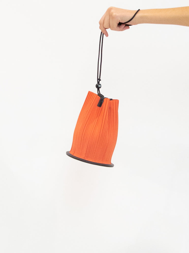 PLEATS PLEASE ISSEY MIYAKE Cone Pleats Bag - Vermilion