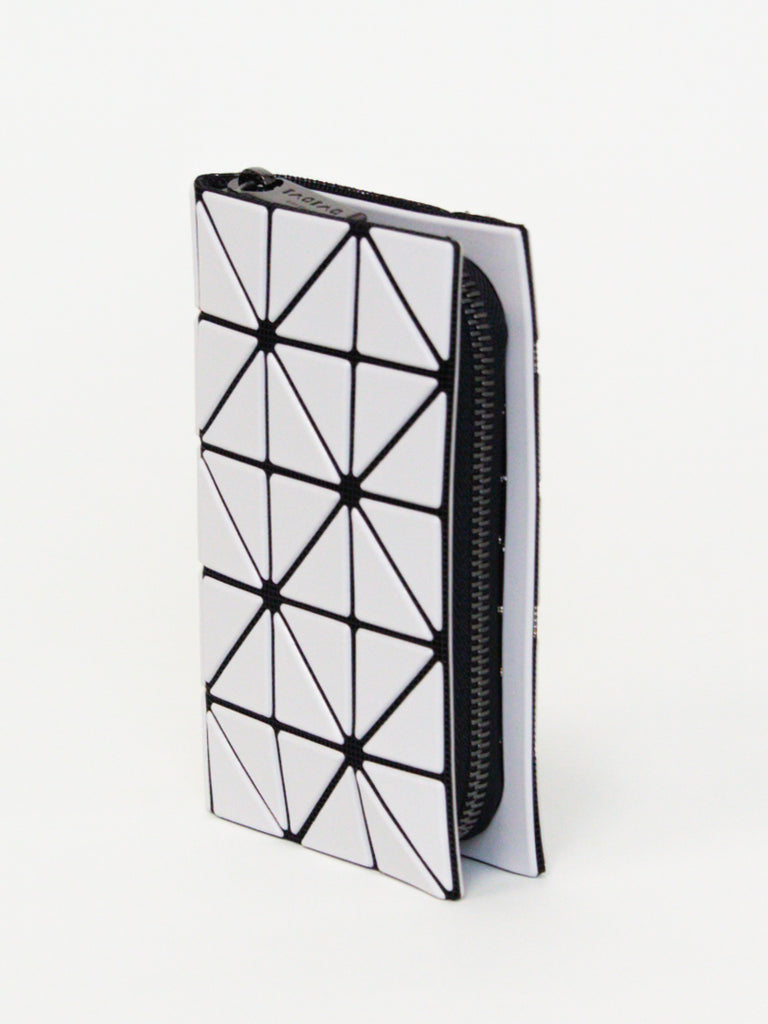 BAO BAO ISSEY MIYAKE Book Wallet Matte Large - Light Grey