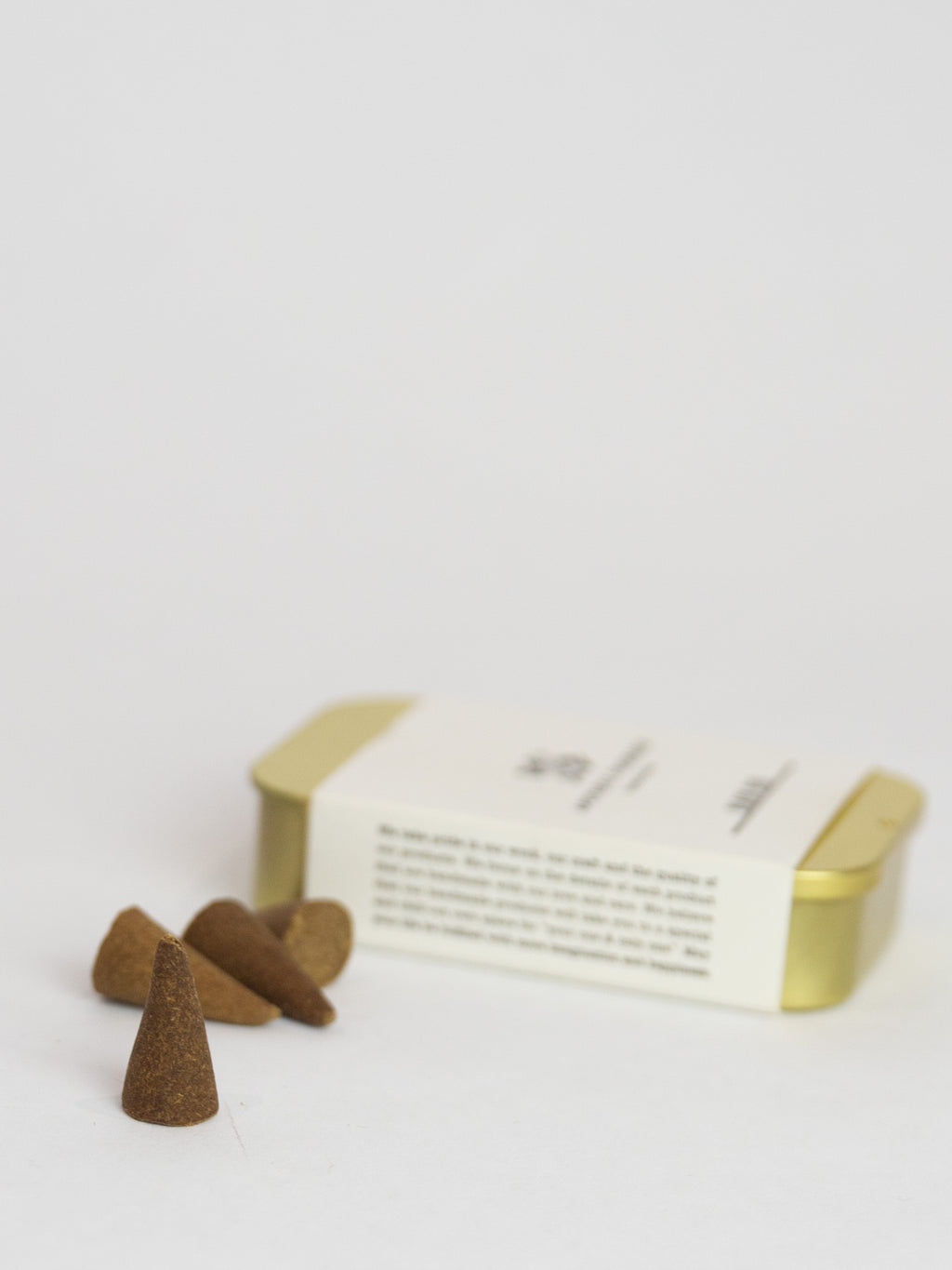 Black Oud Incense Cones