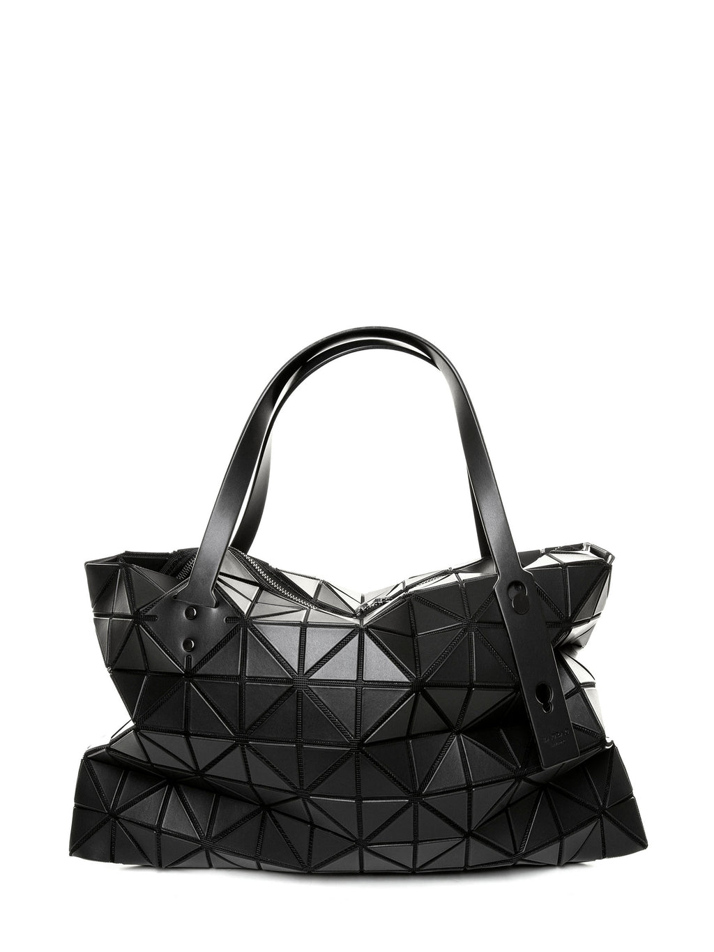 Rock Matte Shoulder Bag - Black