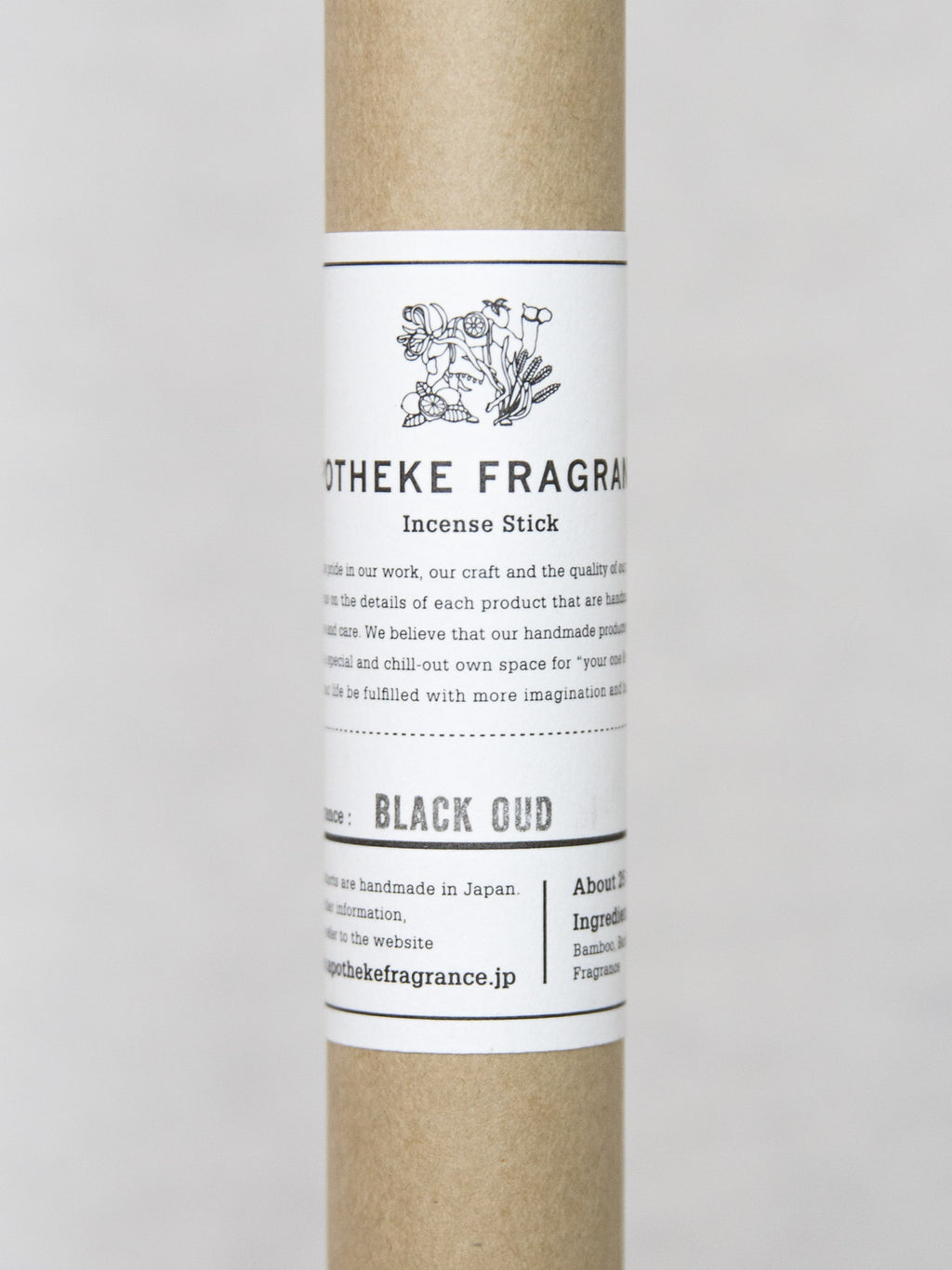 APOTHEKE BLACK OUD Incense
