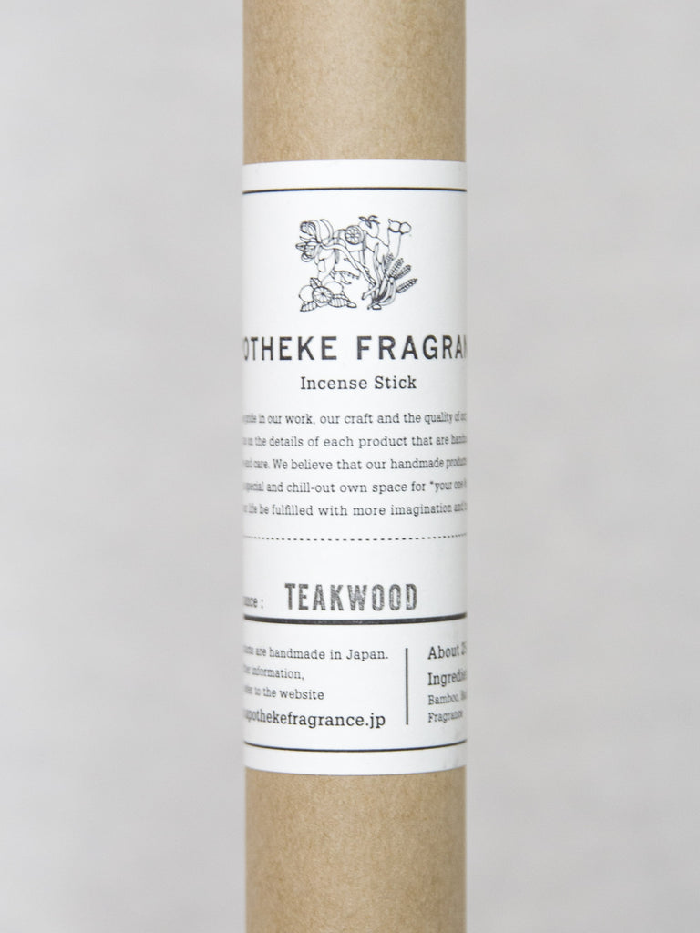 APOTHEKE TEAKWOOD Incense