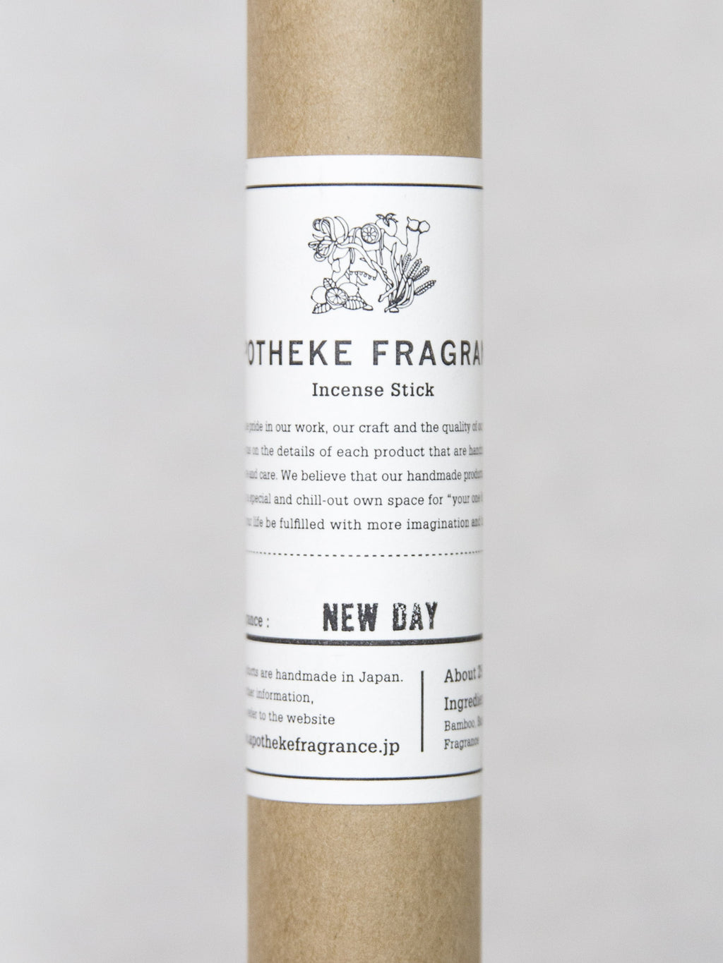APOTHEKE NEW DAY Incense