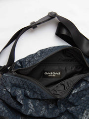 Kuro Curve Shoulder Bag - Navy