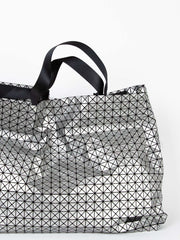 Kuro Cart Metallic Tote Bag - Silver