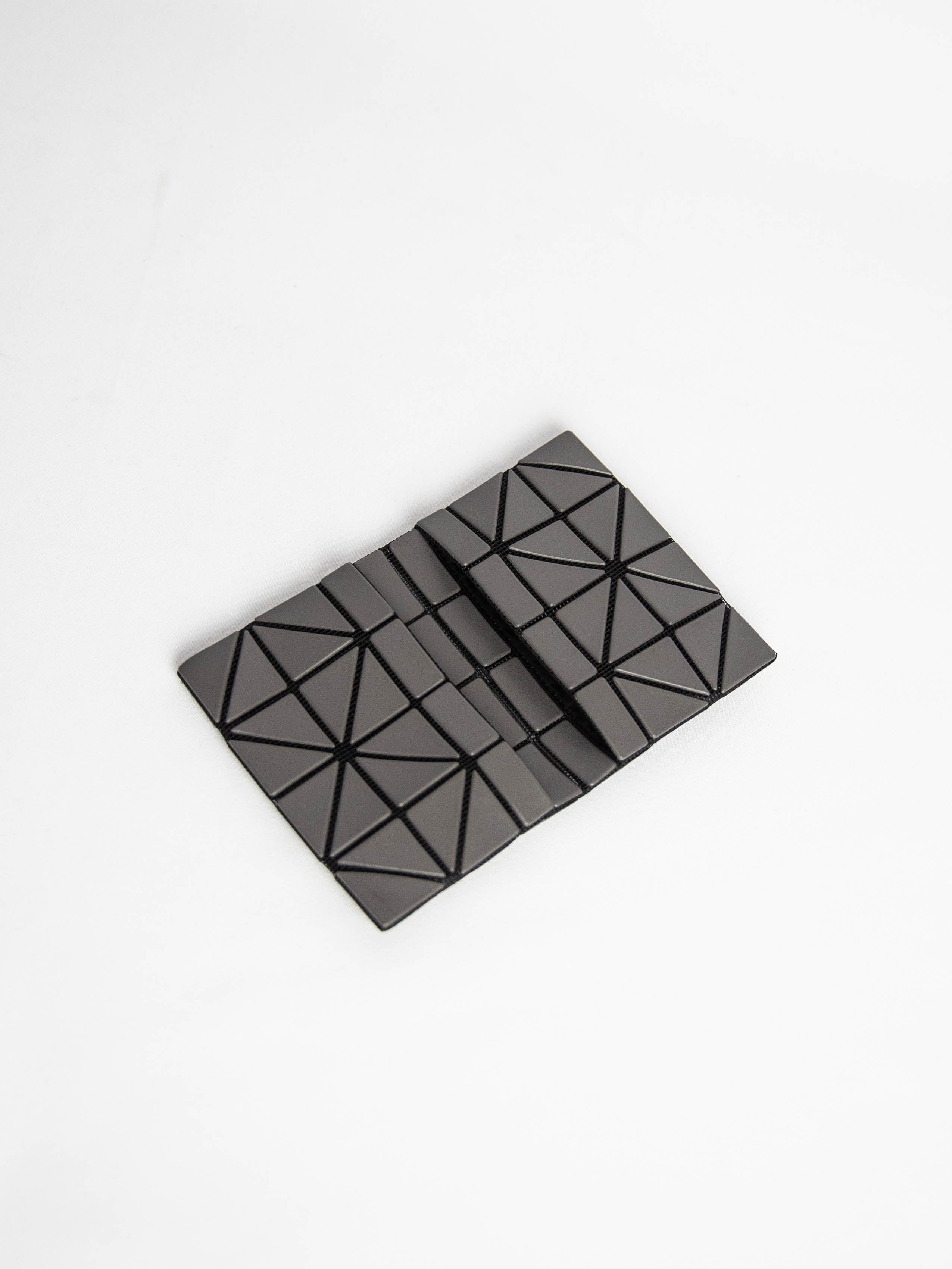 Matte Card Case - Charcoal Gray