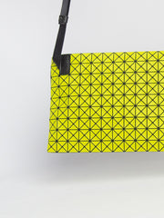 Kuro Sash Crossbody Bag - Lime Yellow