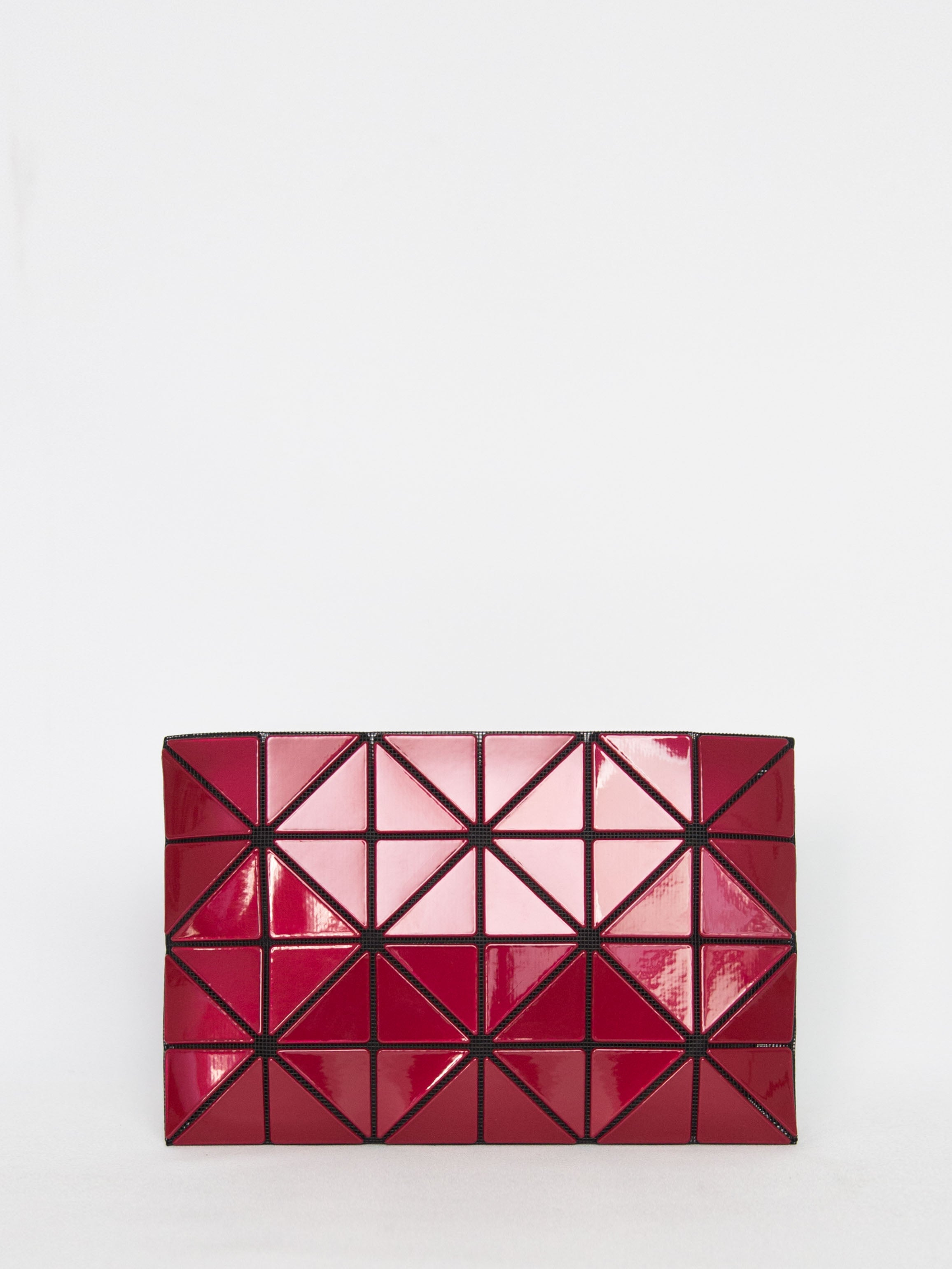 Lucent Metallic Pouch - Red
