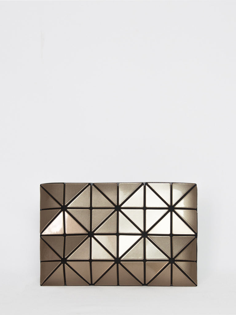Lucent Metallic Pouch - Light Brown