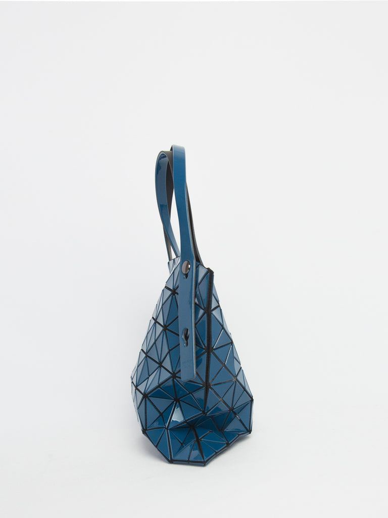 Prism Gloss Small Tote Bag - Dark Blue