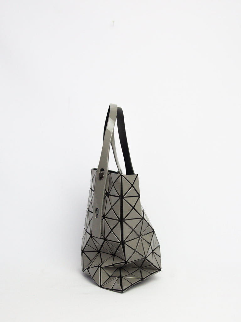 Prism Gloss Small Tote Bag - Grey